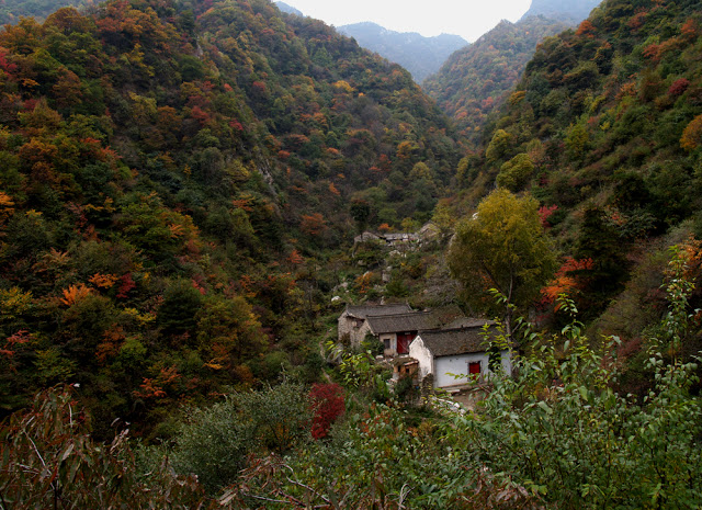 Горы Чжуннань в Гуаньчжуне